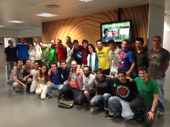 Alumnos Master Videojuegos UPC 2013/14