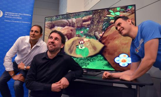 Videojuegos UPC, David Darnes, Horacio Martos, Jesús Alonso